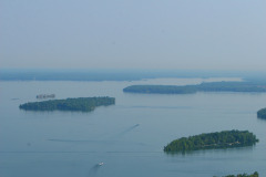 Aerial View of Lake Simcoe